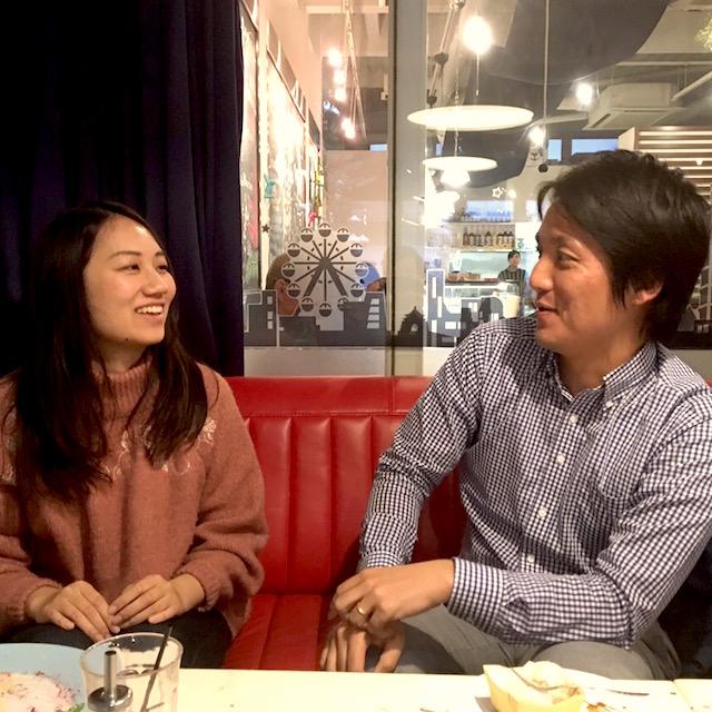 神戸大生とダイエット中のマーケ部長・田中の甘〜いティータイム