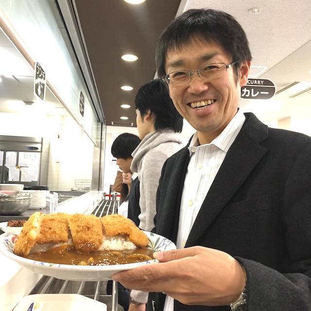 社長と京都産業大生とデカ盛りカツカレーによるキャリア相談ランチ