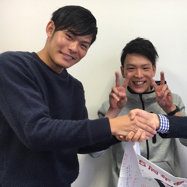 運動不足で息切れしながら大阪体育大学にやってきた!