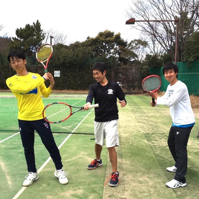 OfferBox社長v.s.早大生テニス対決!