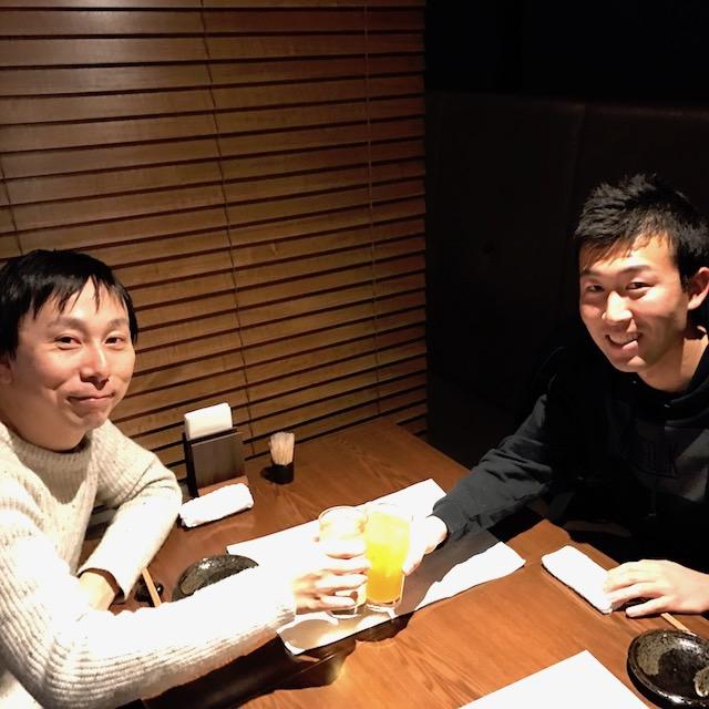 ベンチャーか?大手か?エンジニア志望の大阪府立大生とジュースで乾杯!