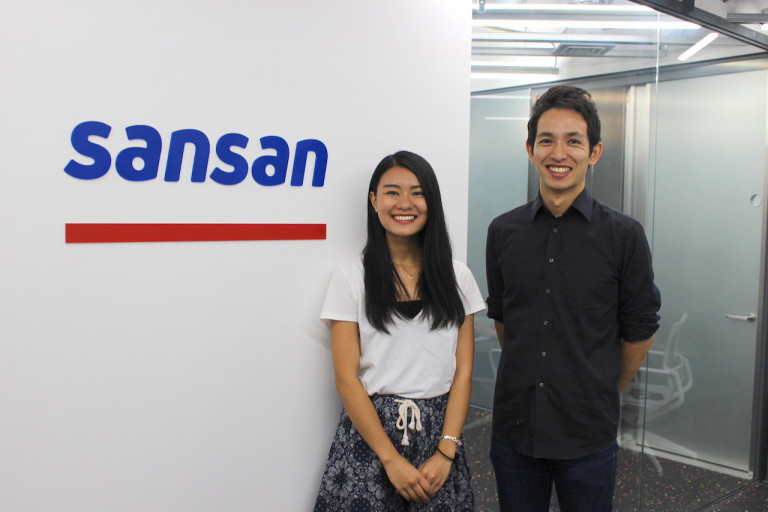 「自走する力」をもつ学生にオファーを|Sansan株式会社