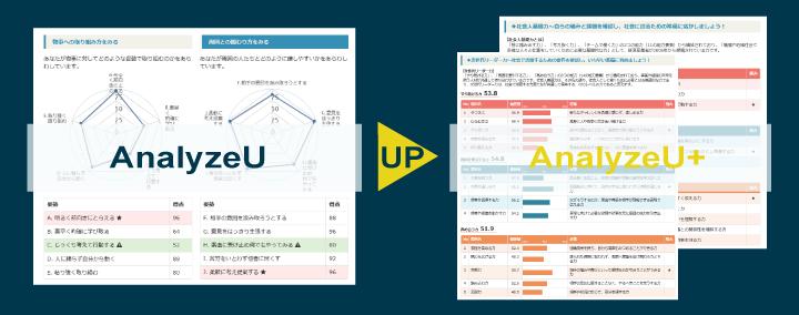 AnalyzeU+パワーアップ!より深く的確な分析ができる